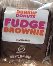 Dunkin Donuts Brownie